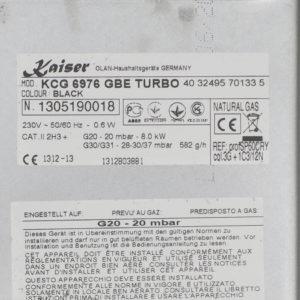 Газова варильна поверхня Kaiser KG 6976 GBE Turbo