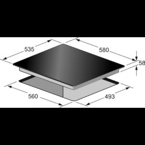Індукційна варильна поверхня Kaiser KCT 6395 IElfEm