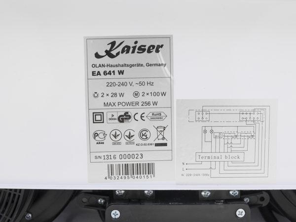 Витяжка Kaiser EA 641 W