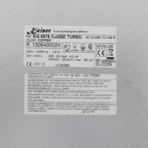 Газова варильна поверхня Kaiser KG 6976 ElfGBE Turbo