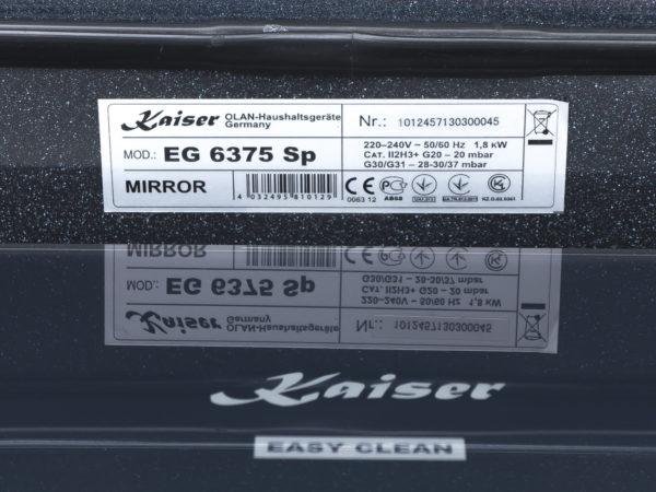 Вбудована газова духовка Kaiser EG 6375 Sp