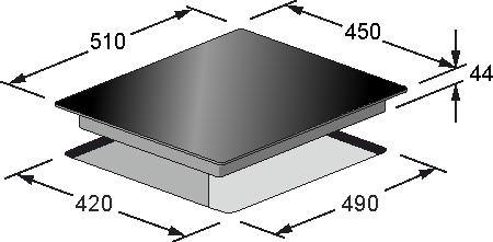 Електрична варильна поверхня Kaiser KCT 4745 F
